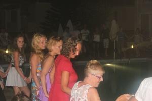 her er jeg selv i full action i dans rundt bassenget
