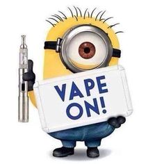 vape on minion